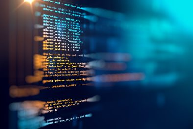 programming code abstract technology background software developer computer script